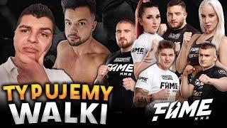 OBSTAWIANIE WALK FAME MMA 4 I NASZE TYPY PTYS & DZIKWS