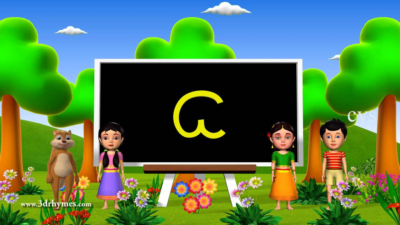 Printables Vowels All In Telugu Aksharalu learn telugu alphabet vowels a aa i ii 3d aa