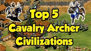 Top 5 Cav Archer Civilizations AoE2