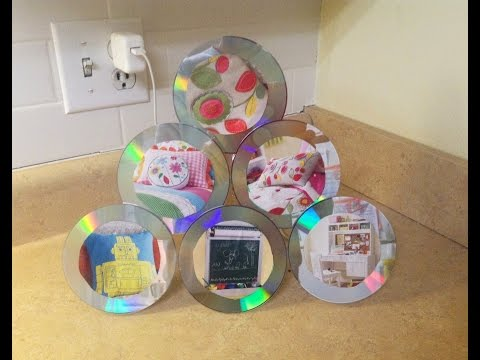 Cómo hacer un porta retratos de CD
