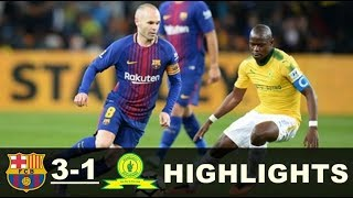 친선전 수아레즈1골 바르셀로나vs 선다운즈3 1 하이라이트&Mamelodi Sundowns vs Barcelona  Highlights - 16/05/2018