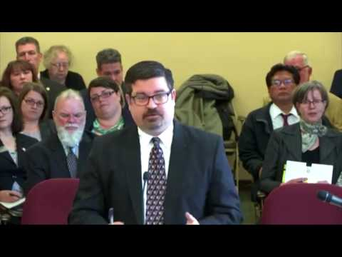 WV EBA Presentation to the Senate Finance Committee - March 2, 2017