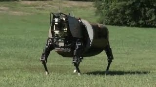 Robotic Mule - SL3 Legged Squad Support System