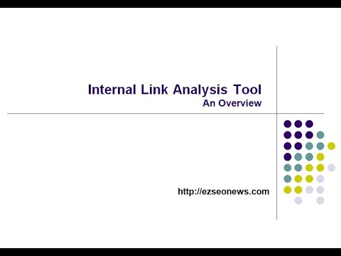 Overview of Internal Link Analysis Tool