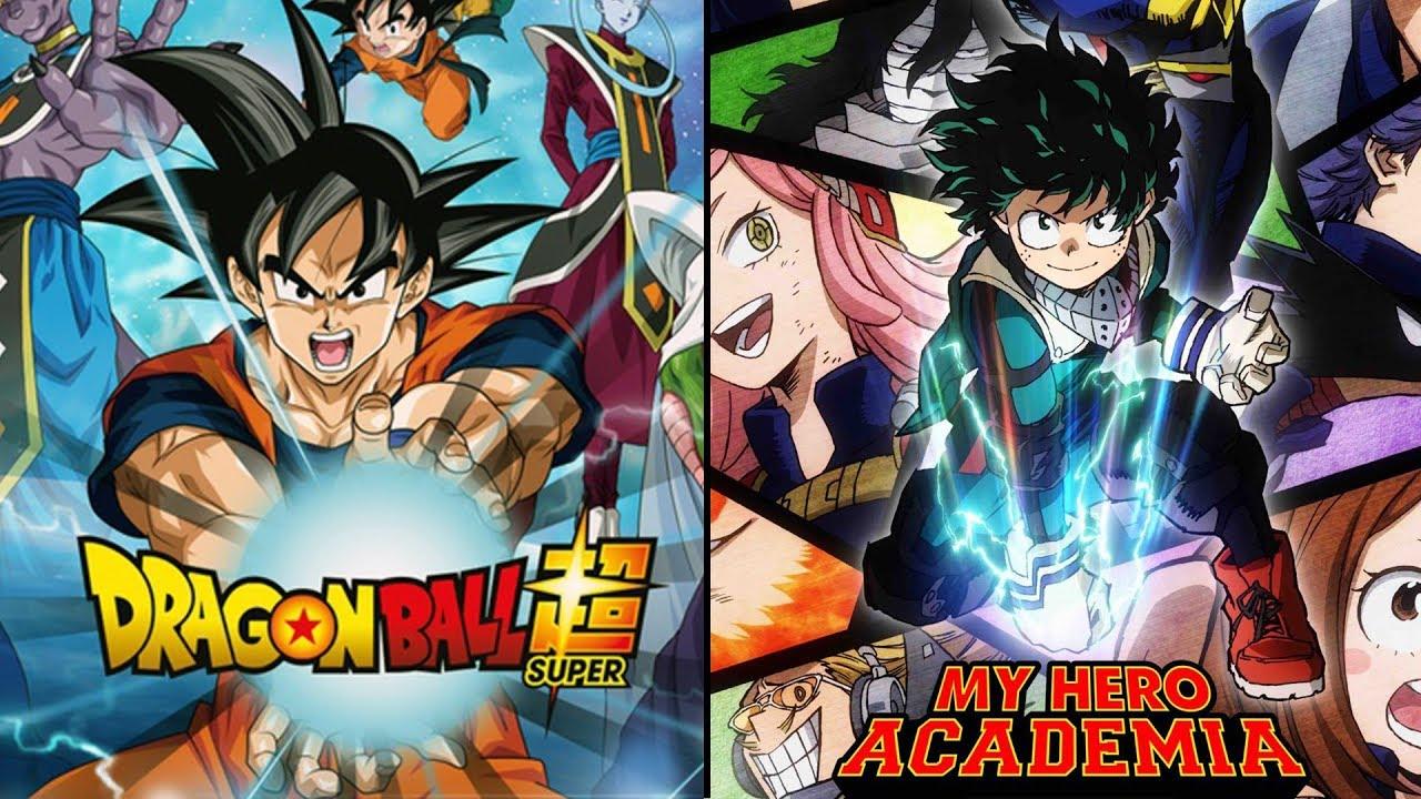 My Hero Academia X Dragon Ball Remix Mix