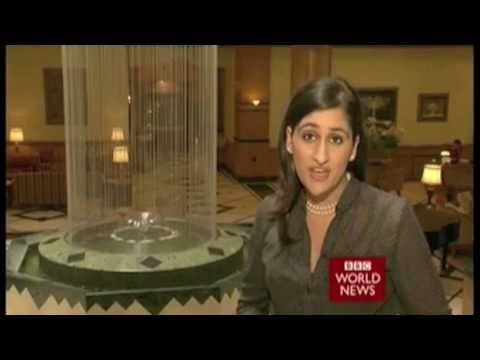 Del Irani - Presenting India Business Report on  BBC World News