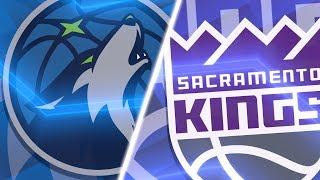 NBA 2K18 (PC) | Timberwolves vs Kings | (1080p 60fps)