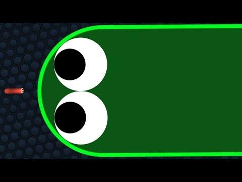 Slither.io 1 Tiny Hacker Snake Vs Giant Snakes Epic Slitherio Gameplay