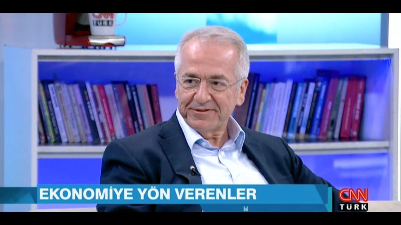 TÜSİAD Yönetim Kurulu Başkanı Erol Bilecik CNNTürk'te Hakan Çelik'in  programına konuk oldu