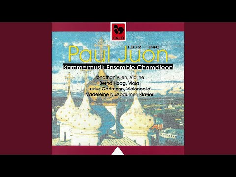 Pieces (4) For Violin & Piano, Op. 28/3: III. Berceuse