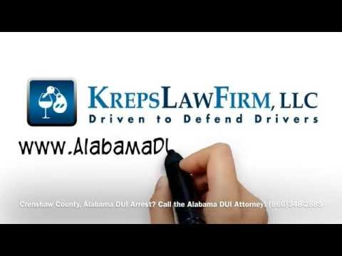 DUI Attorney Crenshaw County, Alabama - DUI Lawyer Help Crenshaw County, AL Drunk Driving Arrest