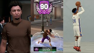 THIS NEW JUMPSHOT IS AMAZING! 90 OVERALL! NBA 2K19 MyCareer - BUDGET PLAYER EP 34!