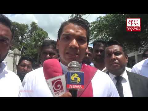 Now we are terrorists for govt - Namal Rajapaksa