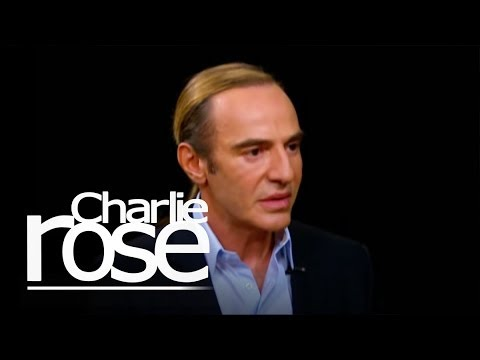 John Galliano's Charlie Rose Interview Highlights: Blackouts, McQueen's Suicide (VIDEOS)