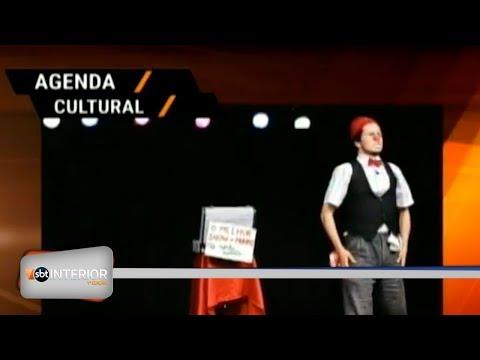 Agenda Cultural: veja as atrações do fim de semana na região