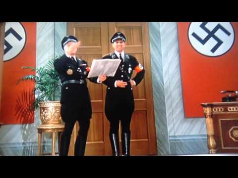 Mel Brooks: Naughty Nazis  To be or not to be