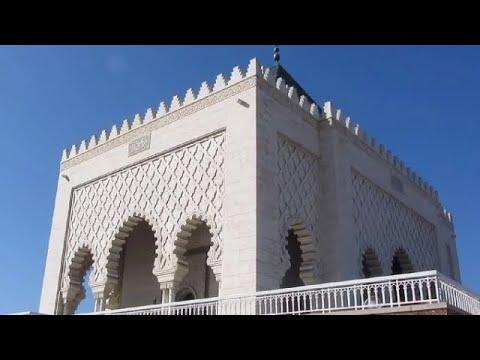 Mausoleum of Mohammed V, Rabat, Morocco, Africa