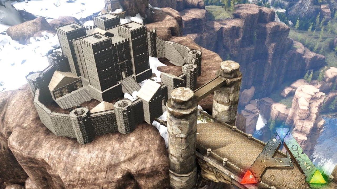 ARK: Homestead - Dragon Bridge Castle (Speed Build)
