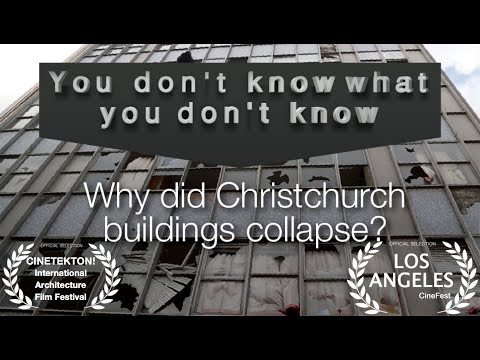 "Why did Christchurch buildings collapse? ""You don't know what you don't know"""