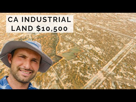Industrial Zoned Land In Las Angeles County, Lancaster CA