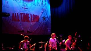 All Time Low @ Lincoln Hall Live - Weightless and Dear Maria - 0/26/10