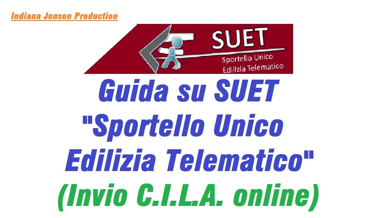 """Fine Lavori Cila Roma guida su suet """"sportello unico edilizia telematico"""" - invio"""