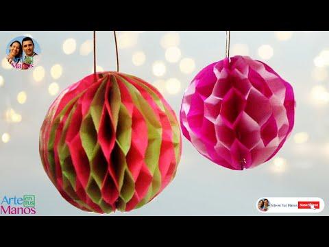 festoon-on-paper,-spheres-on-silk-paper