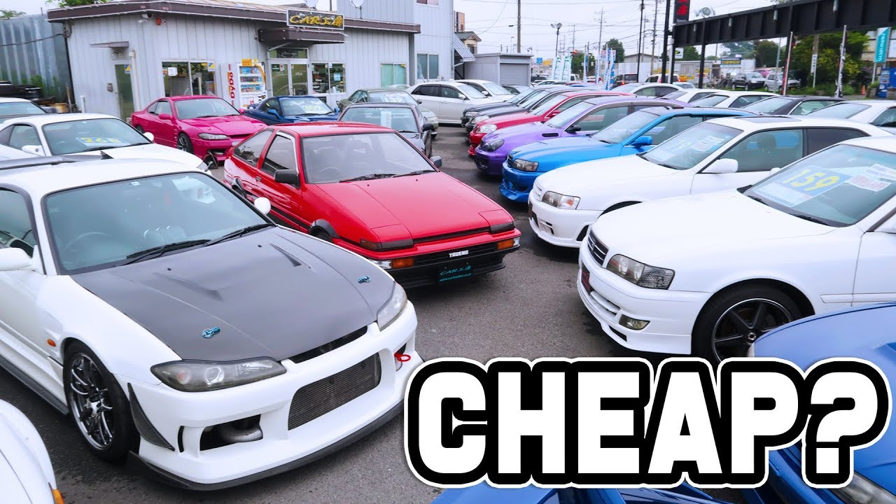 CARS FOR SALE IN JAPAN! - Big Japanese Car Yard!