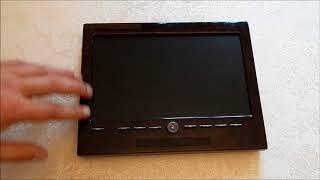 обзор телевизора для заднего дивана мерседес Pullman (с авто председателя правления банка в Бельгии)