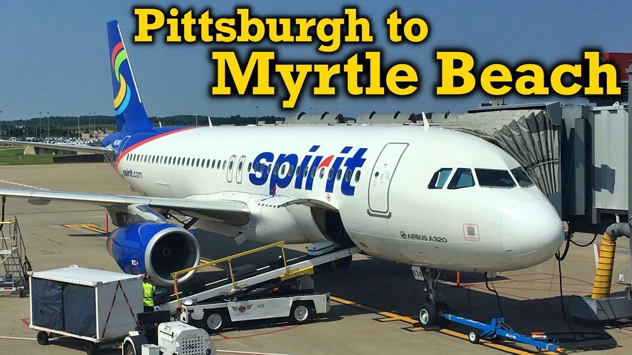 Spirit Airlines Myrtle Beach Sc