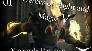 Video de Campaña 1. La Reina: Misión 1 (Heroes of Might and Magic V) // Gameplay Español