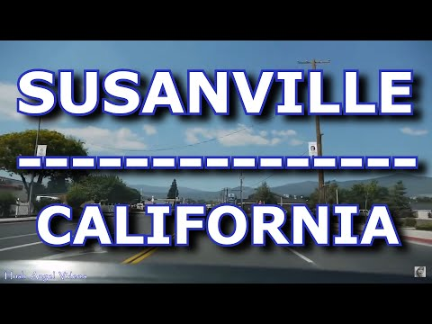 Driving in Susanville