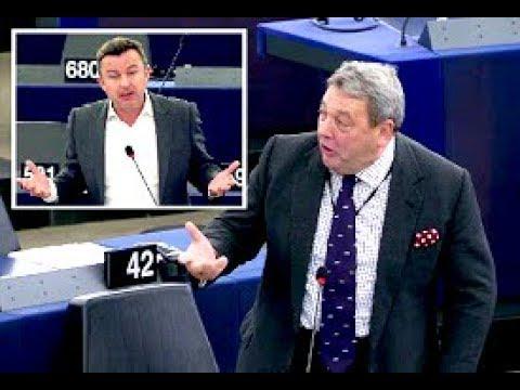 European Investment Bank mucking about in London - David Coburn MEP