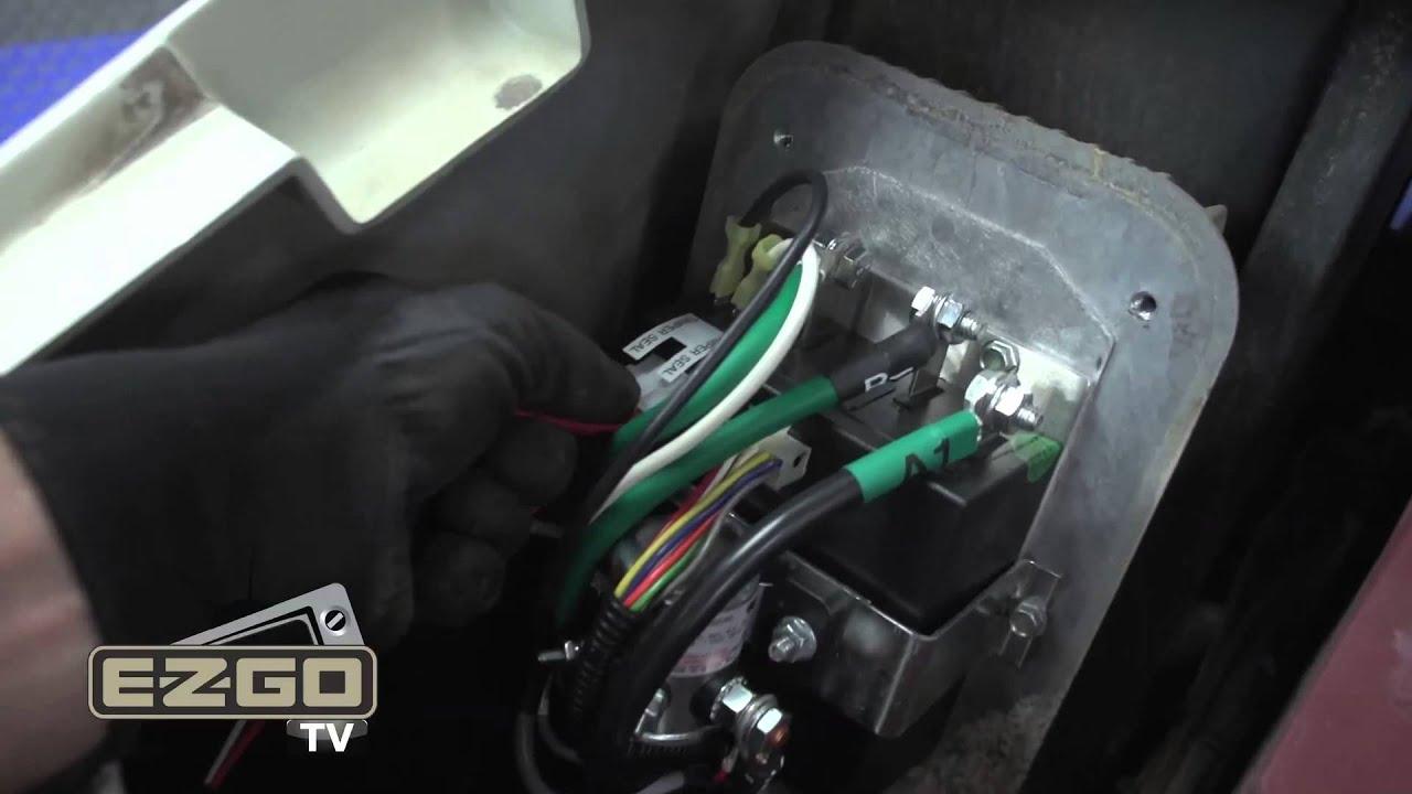Ezgo Txt Gas Wiring Diagram Toyota 1jz Ge Vvti How To Install An Personality Plug Installation Youtube