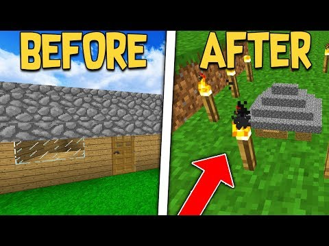 SLOWLY SHRINKING NOOBS HOUSE TILL HE NOTICES ON MINECRAFT...