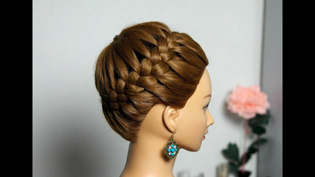 Корзинка на волосах