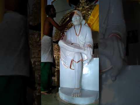 19 . 11 . 2017 morning pooja & abishegam Madurai, Kariapatti, sai baba temple