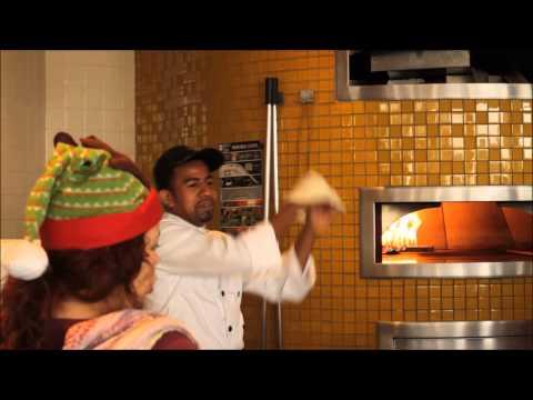 """""""Santas Pizza Kitchen - A Holiday Party"""" Xmas 2014 Video"""