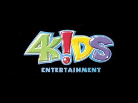 4Kids Entertainment Logo on a black background