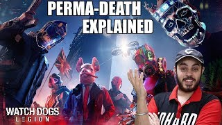 Watch Dogs Legion | PERMA-DEATH & PLAY-AS-ANYONE Explained😎