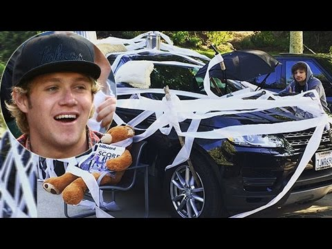 One Direction's Niall Horan Gets Pranked...