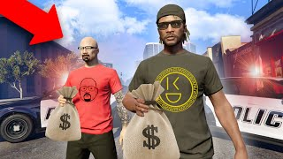 Robbing A Store With A REAL LIFE EX-CRIMINAL! | GTA 5 THUG LIFE #312