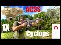 Primary Arms Cyclops 1x Prism Scope With ACSS Reticle Review