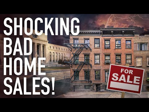 Shockingly Bad Home Sales Data Derail The Fed's Tapering Plans