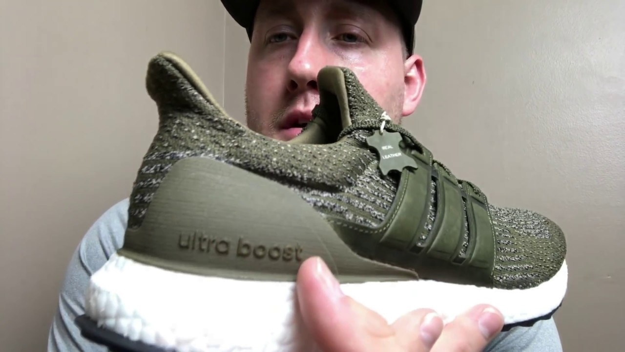 Adidas ULTRA BOOST TRACE OLIVE!!!! THESE ARE SICK!!!!!!