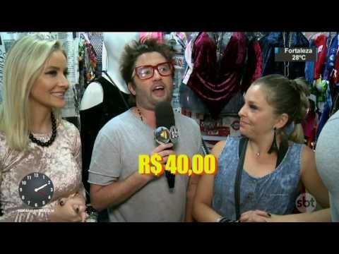 Blogueira monta look de sucesso com apenas R$ 100 - SBT Notícias (22/05/17)