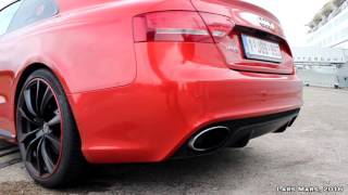 Audi RS5 Straight Pipe Exhaust | Startup, Revs, Accelerations - LOUD!
