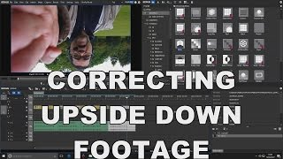 Edius Tutorial How To Correct Upside Down Samsung Galaxy S5 Android Smartphone Camera Video Footage
