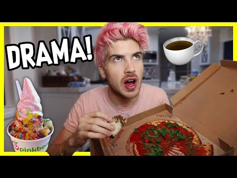 ANSWERING QUESTIONS I'VE AVOIDED! | Junk Food MUKBANG