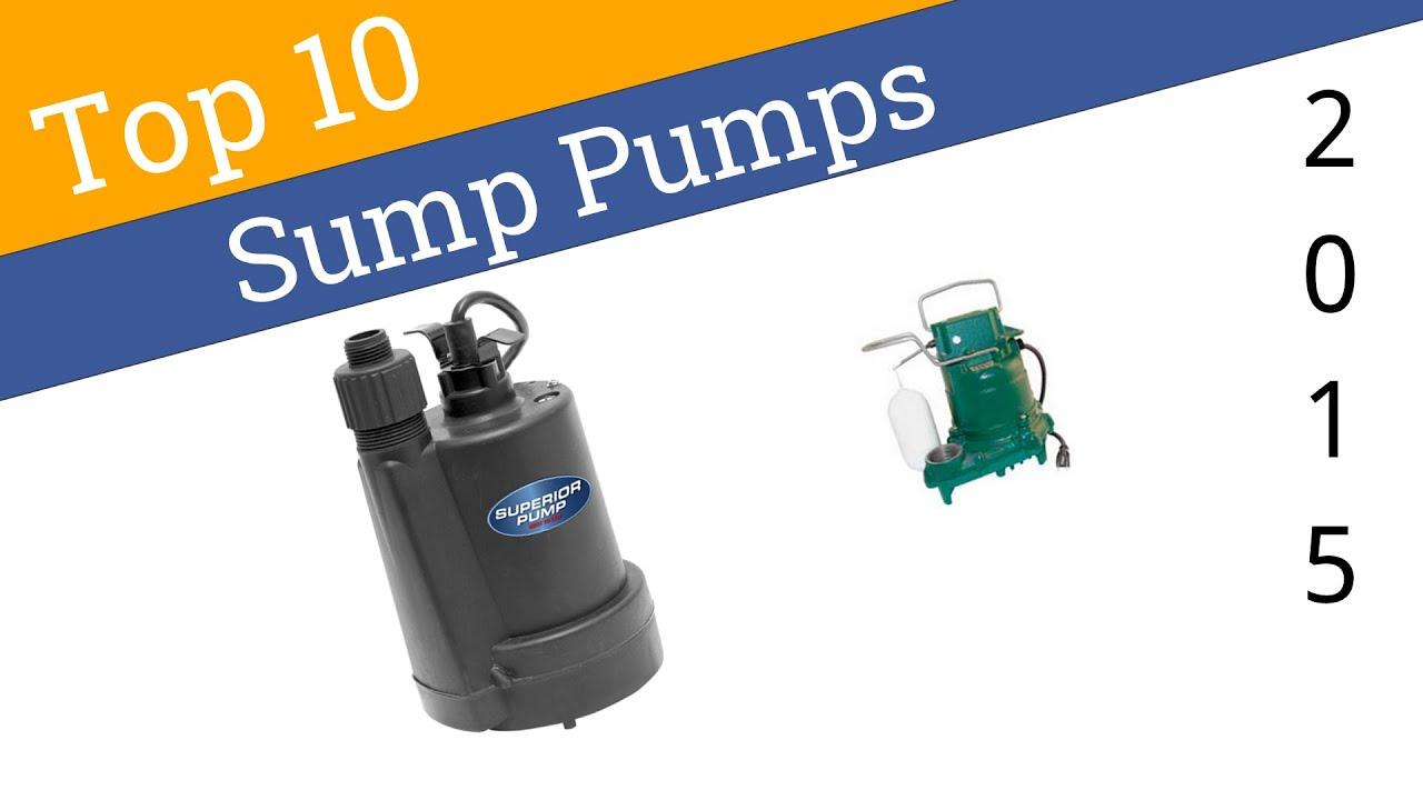 10 best sump pumps
